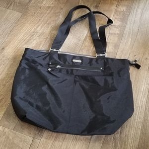 Baggallini Black Nylon Tote Bag